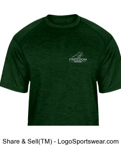 Youth Tonal Blend T-Shirt: Green Design Zoom