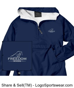 Classic Pullover Jacket Design Zoom